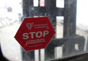 naklejka UDT stop